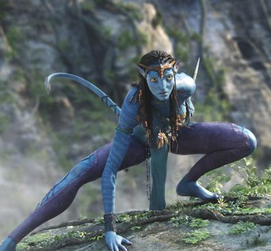 blue girl avatar