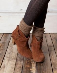 slouch socks with boots